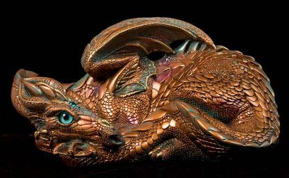 Mother Dragon - Copper Patina