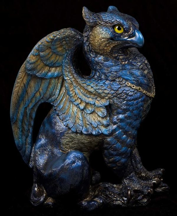 Male Griffin - Midnight Gold Test Paint #1