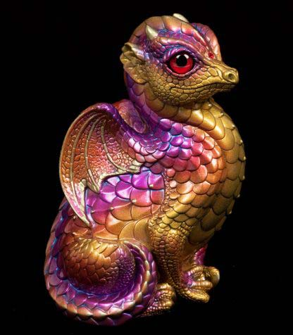 Fledgling Dragon - Violet Flame