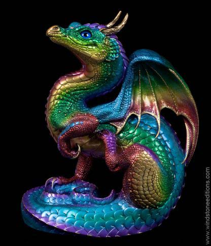 Scratching Dragon - Rainbow