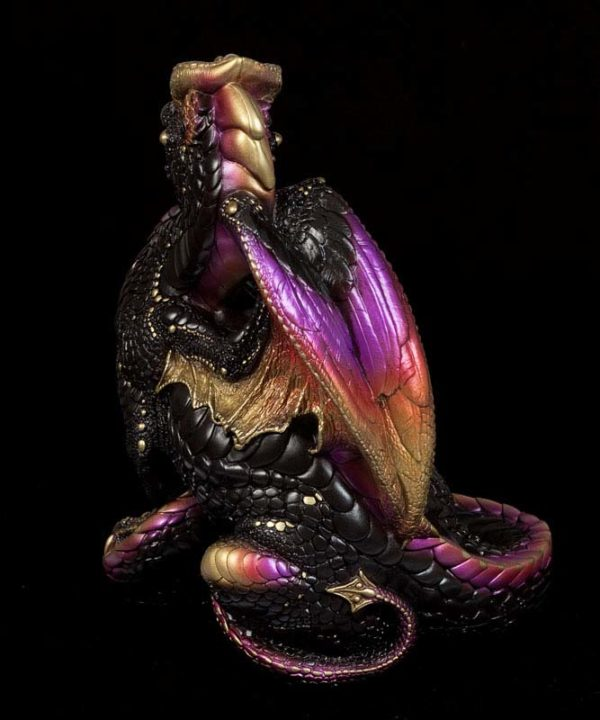 Male Dragon - Black Gold