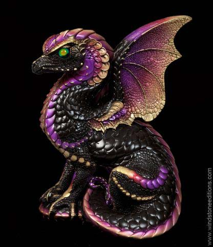 Spectral Dragon - Black Gold
