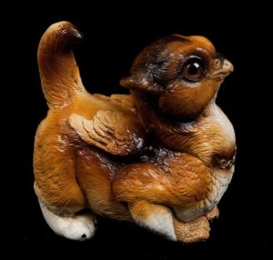 Collie Crouching Griffin Chick by Windstone Editions