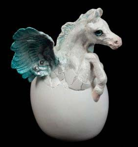 Winter Hatching Pegasus by Windstone Editions