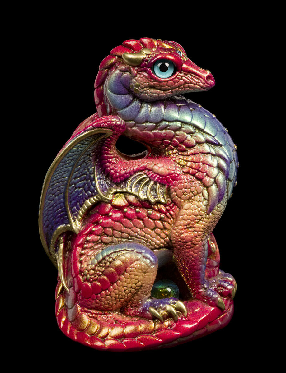 20200907-Oceans-Flame-Bantam-Dragon-Test-Paint-1-by-Gina